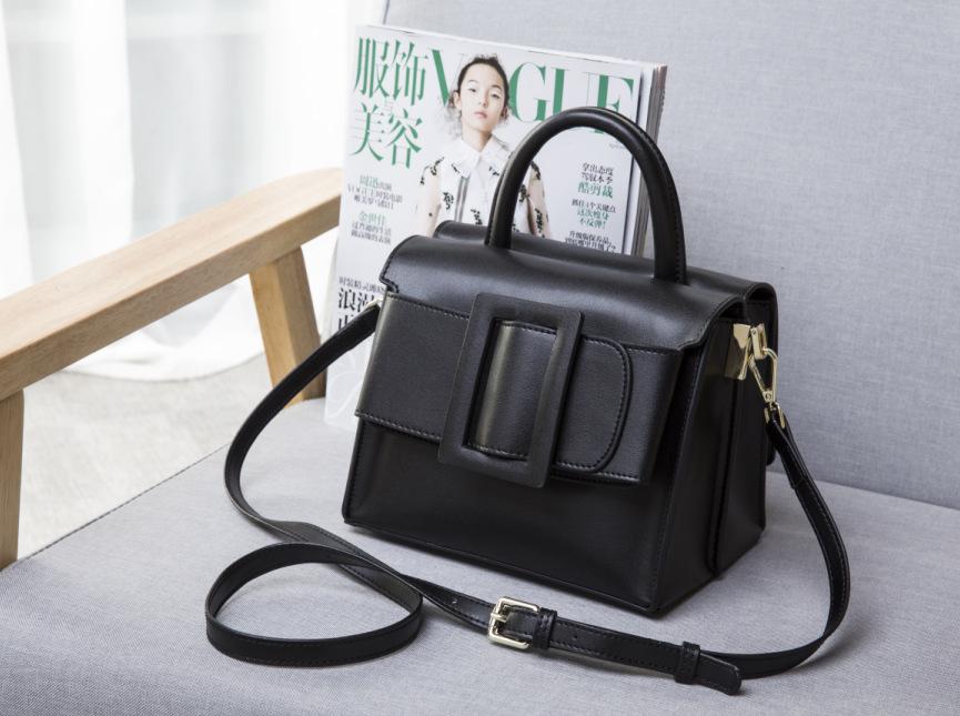 กระเป๋าหนังวัว Boyy Bags LUCAS (Black)