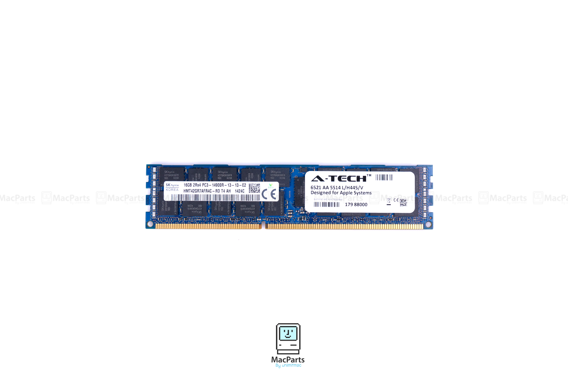 16GB 2Rx4 PC3-14900R 1866 Module Mac Pro Late 2013 A1481 ME253LL/A MD878LL/A MacPro6,1 Memory Ram SKhynix