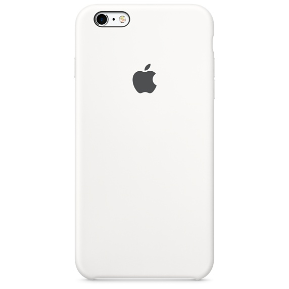 iPhone 6,6S Silicone Case -White , เคสซิลิโคน iPhone 6,6s - สีขาว
