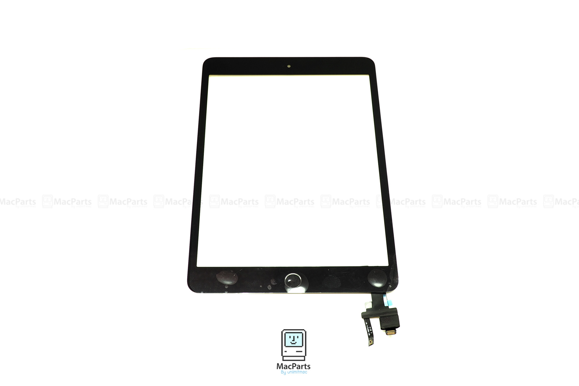 Touch Screen Panel iPad Mini 3 Generation (Black) + IC Chip And Home button , Touch ID Button ชุดทัชสกรีน iPad mini 3 พร้อมชุดปุ่ม โฮม,ทัชไอดี และ IC Chip