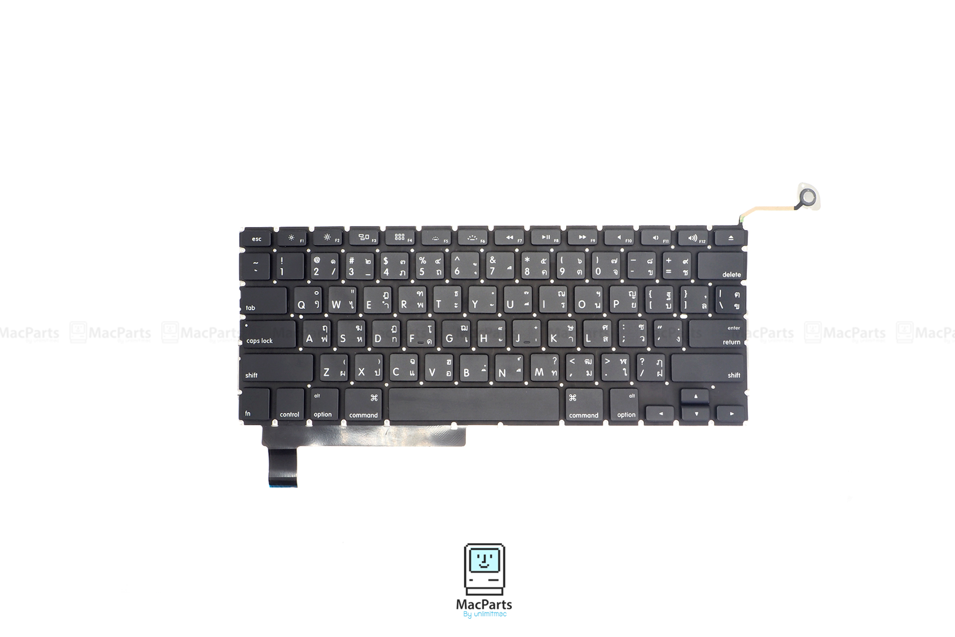 """US/TH Keyboard MacBook Pro 15"""" 2009 , Mid 2010 , Early 2011, Late 2011 , Mid 2012 (A1286)"""