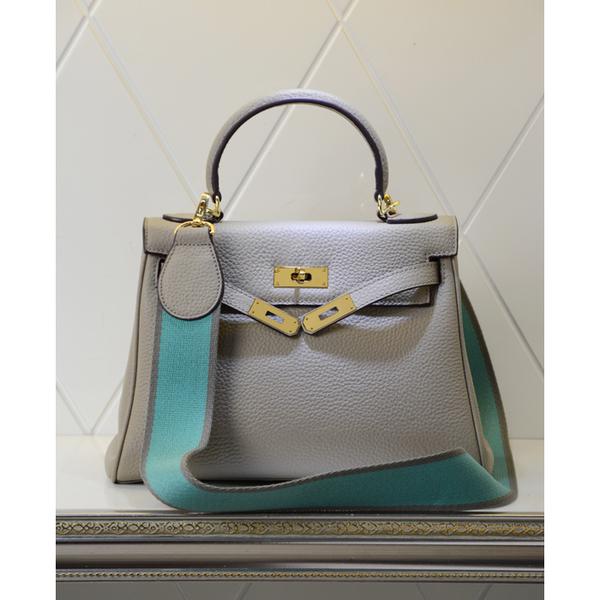 กระเป๋า hermes kelly สีเทา Size 32cm
