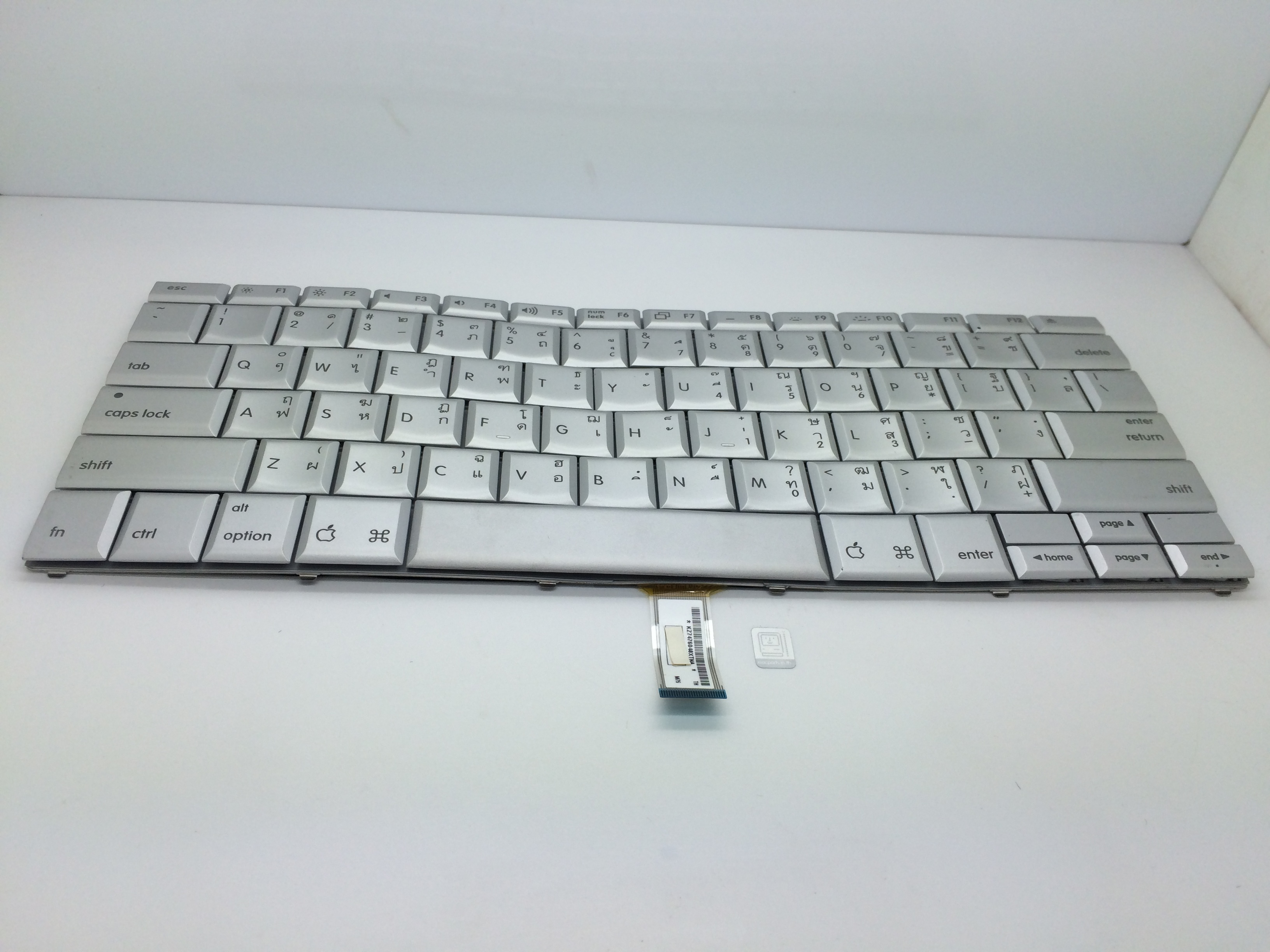 TH922-8350 Keyboard MacBok Pro Aluminium A1260 Core 2 Duo 2.4, 2.5 or 2.6 GHz (Model A1260) Fit For A1226 MAcBook Pro 2.2 GHz