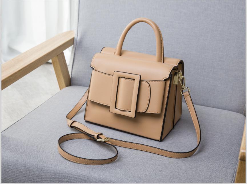 กระเป๋าหนังวัว Boyy Bags LUCAS (Apricot)