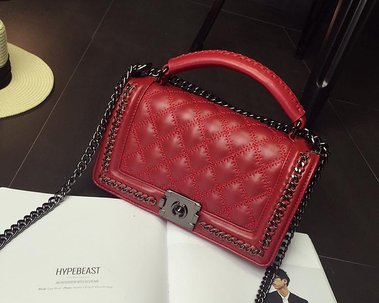 กระเป๋าหนัง Red happy Summer 10 นิ้ว