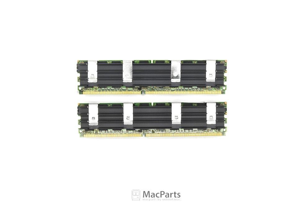 Ram ECC DDR2 8GB (4GBx2) BUS 800 PC-6400F FOR MACPRO 2008 WARRANTI 1Y (MICRON)