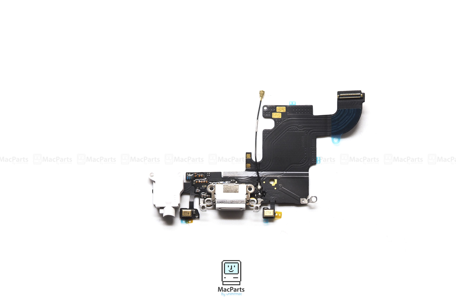 iPhone 6s Lightning Connector and Headphone Jack Gray , ชุดหูฟังไอโฟน 6S เทา