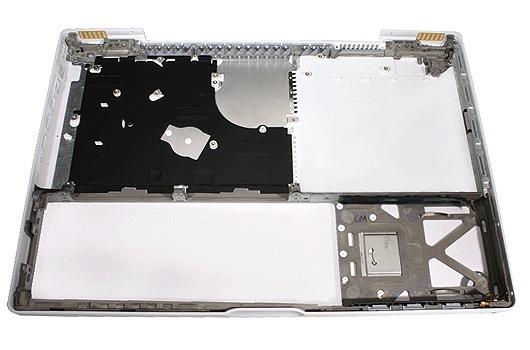 922-7382 Bottom Case MacBook White