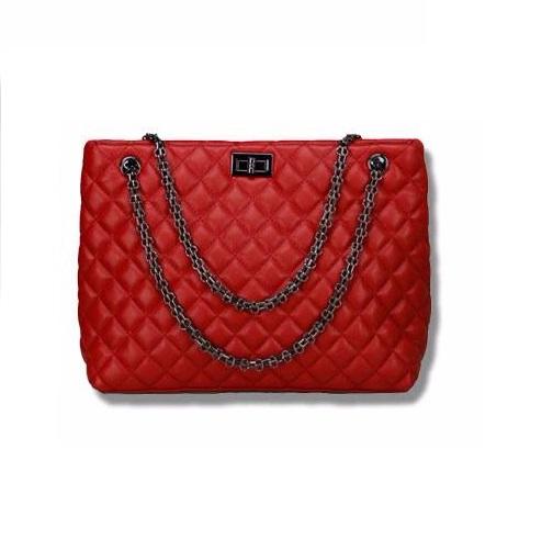 กระเป๋าหนังแกะ รุ่น Vivy Red