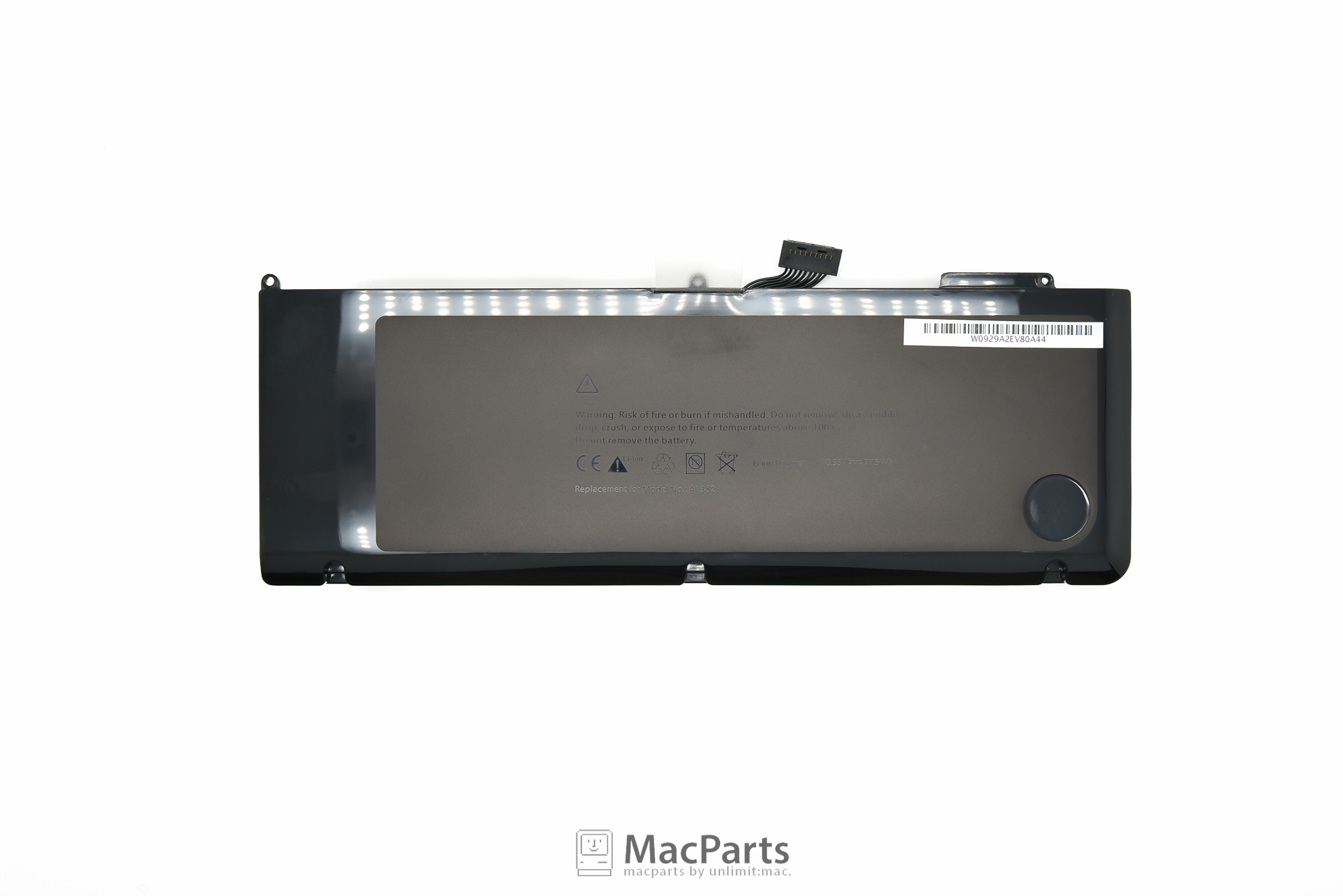 661-5844 Rechargeable Battery For - 15 inch MacBookPro Unibody (Early 2011/Late 2011/Mid 2012) A1382