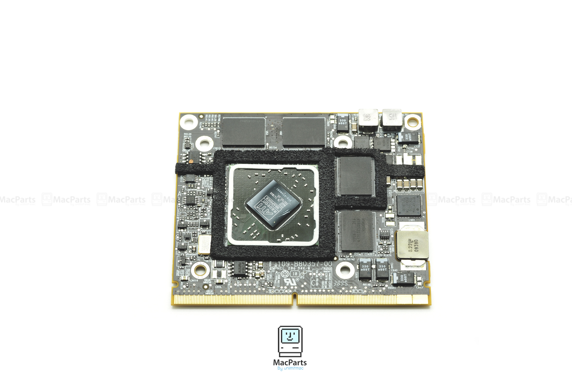 "661-5539 AMD Radeon HD 4670M 256MB Video Card for iMac 21"" mid 2010 (No Heat Sink)"