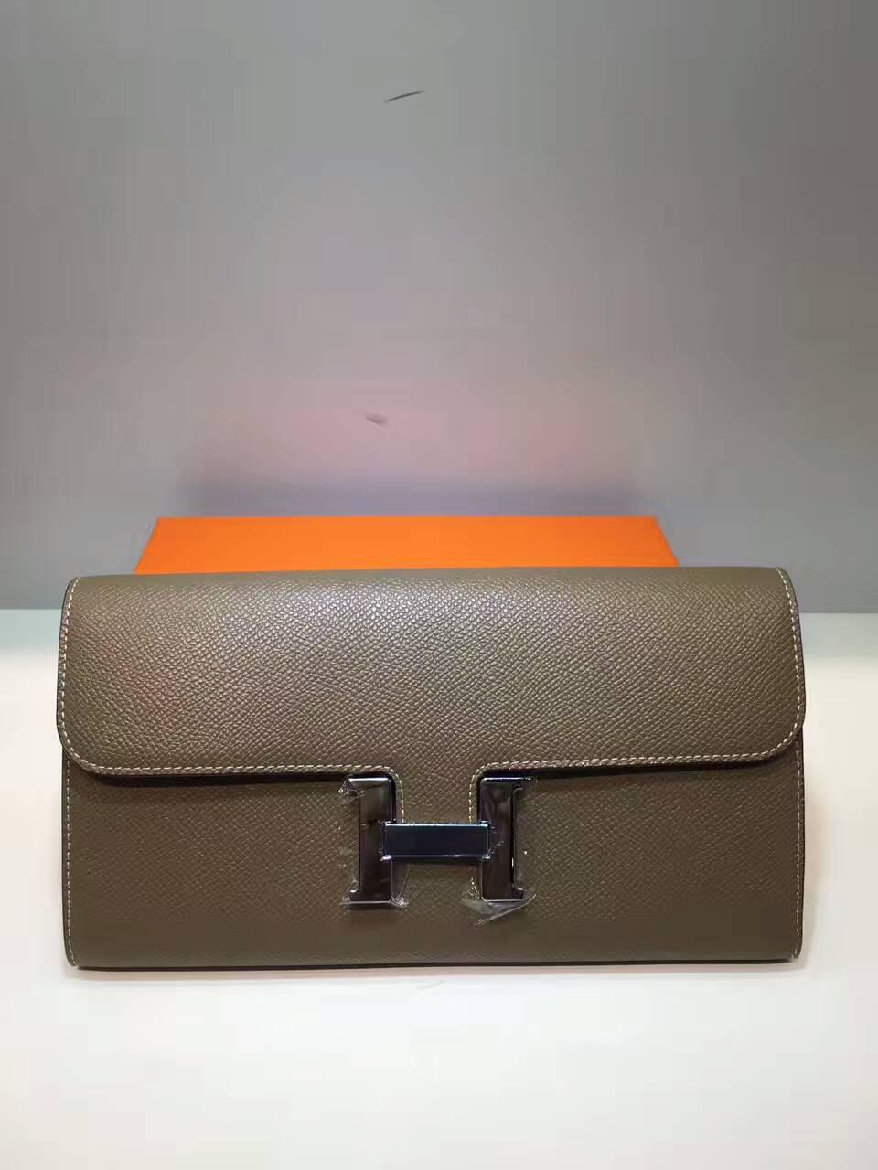 กระเป๋าสตางค์หนังแท้ H
