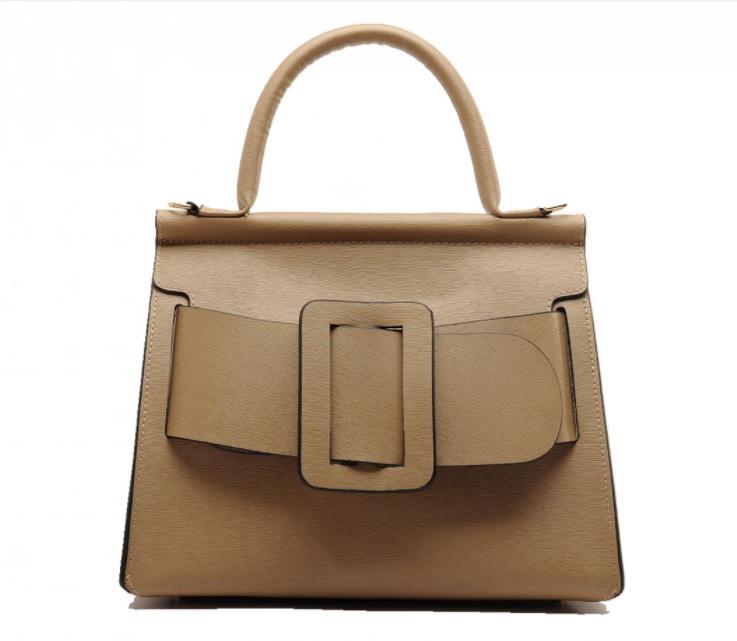 กระเป๋าหนังวัว Boyy karl bags (สีน้ำตาลทอง size 29)
