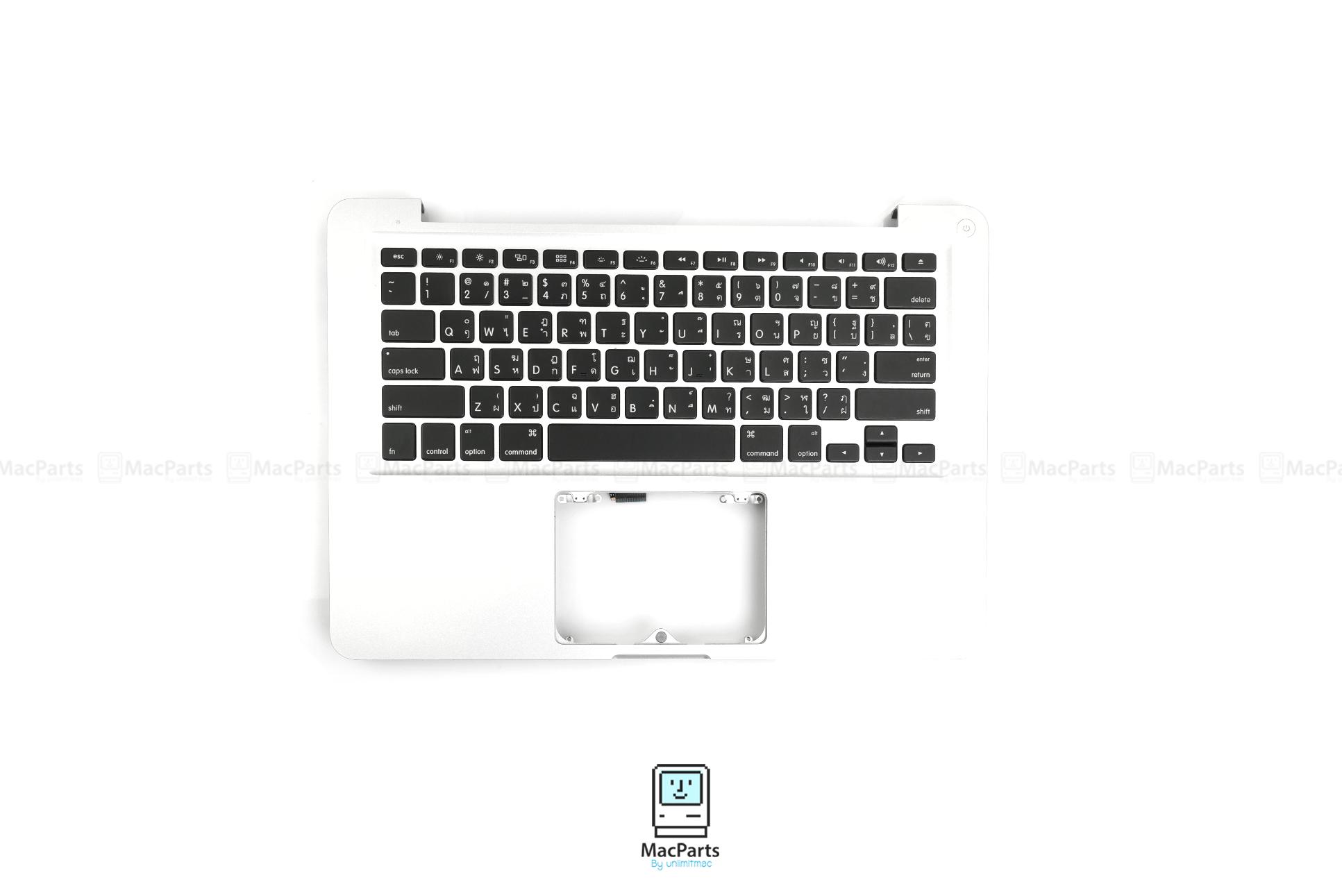 TH661-5857 TOP CASE W/KEYBOARD ASSY,W/O TP,BL-THA MacBook Pro (13-inch, Mid 2009)
