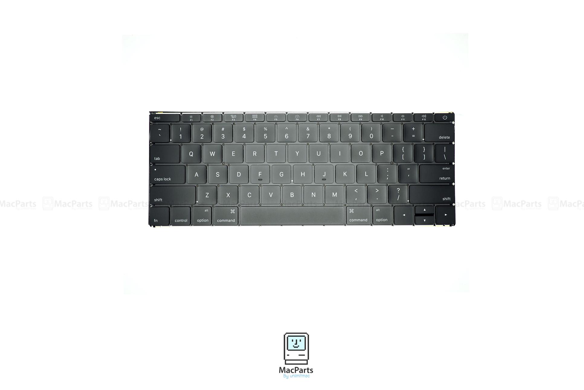 """US Keyboard MacBook RETINA 12"""" Early 2015 , Early 2016 (A1534)"""