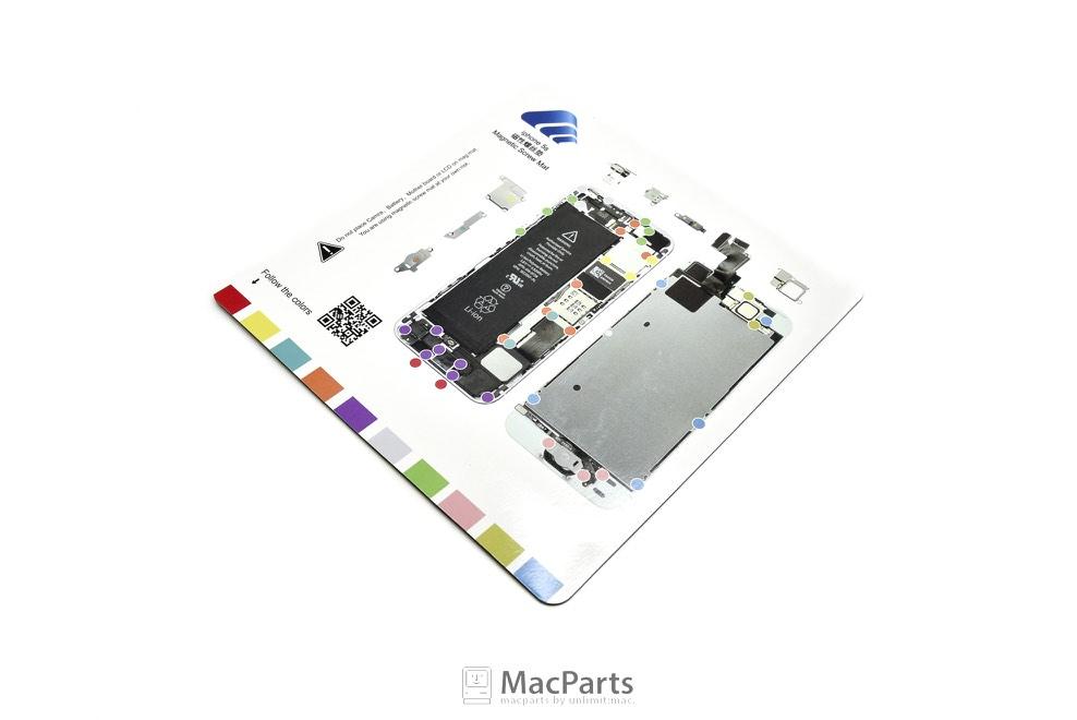 แผ่นแม่เหล็กแยกน็อต Magnetic Screw iPhone 5S