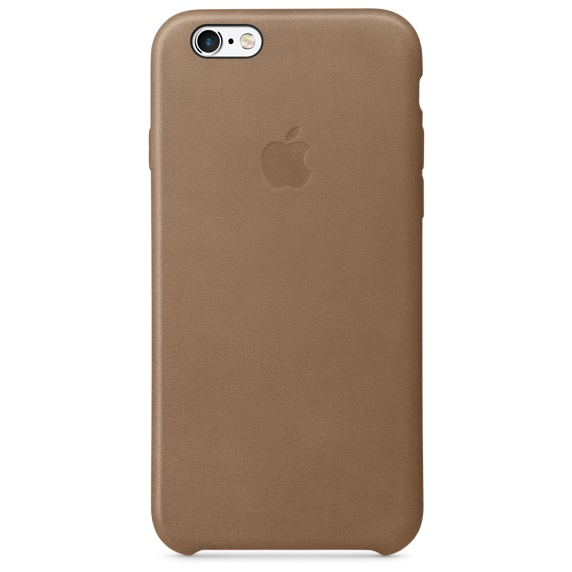 iPhone 6,6S Leather Case - Olive Brown , เคสหนัง iPhone 6,6s - สีน้ำตาล