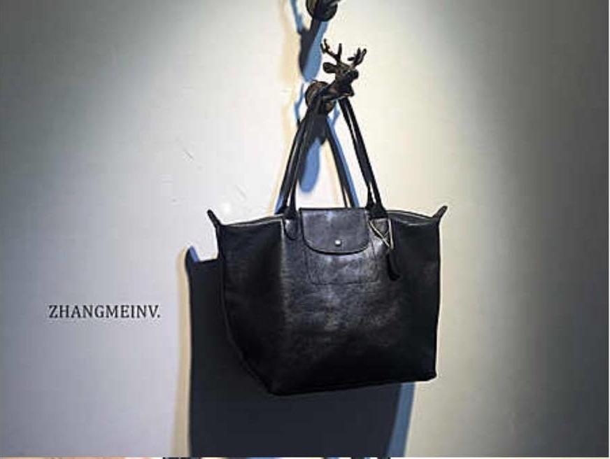 กระเป๋าหนังแกะ ทรง Longchamp SALE!!