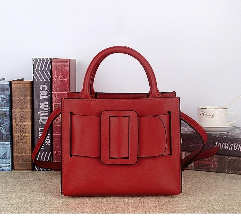 กระเป๋าหนังวัว Boyy Bobby (Red)
