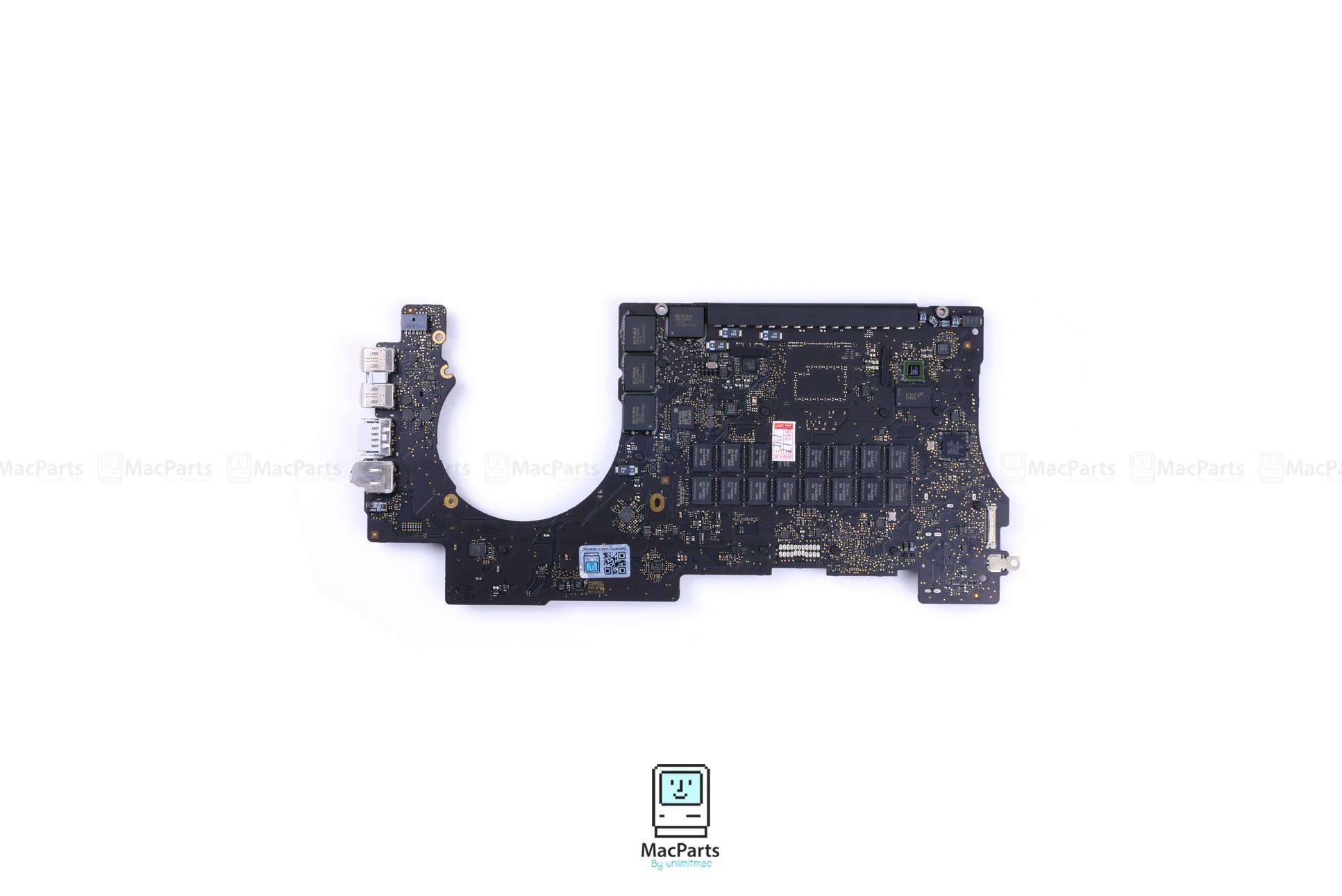 661-02525 MLB 2.5GHZ 16GB MacBook Pro 15-inch Retina Mid 2015