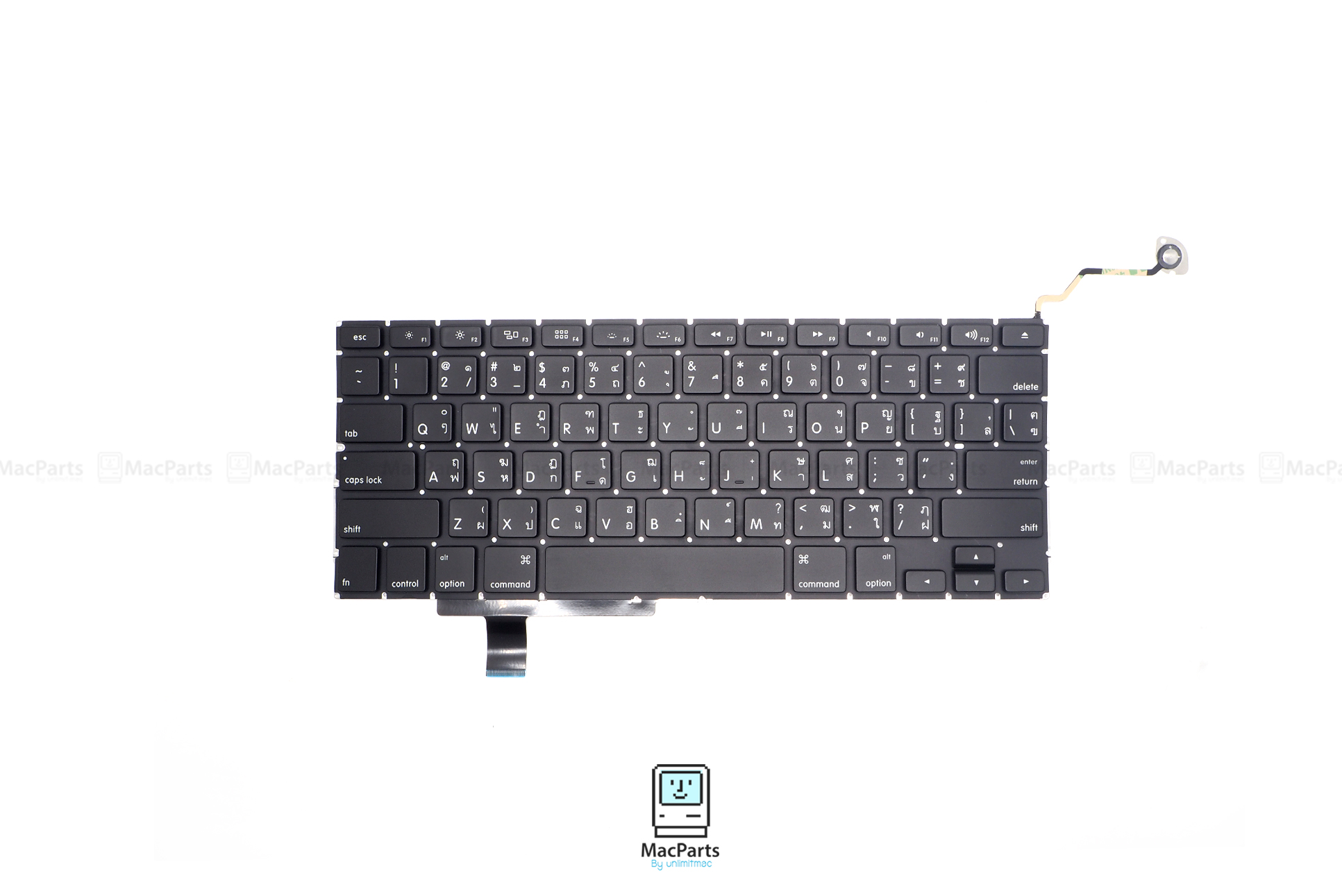 "TH/US KeyBoard MacBook Pro 17"" 2009 2010 2011 (A1297)"