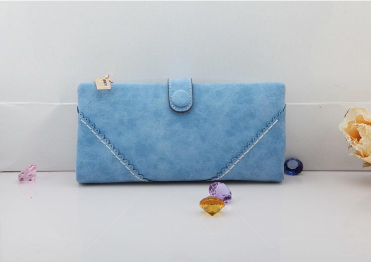 กระเป๋าหนัง PU รุ่น Lady Baby (Baby blue)
