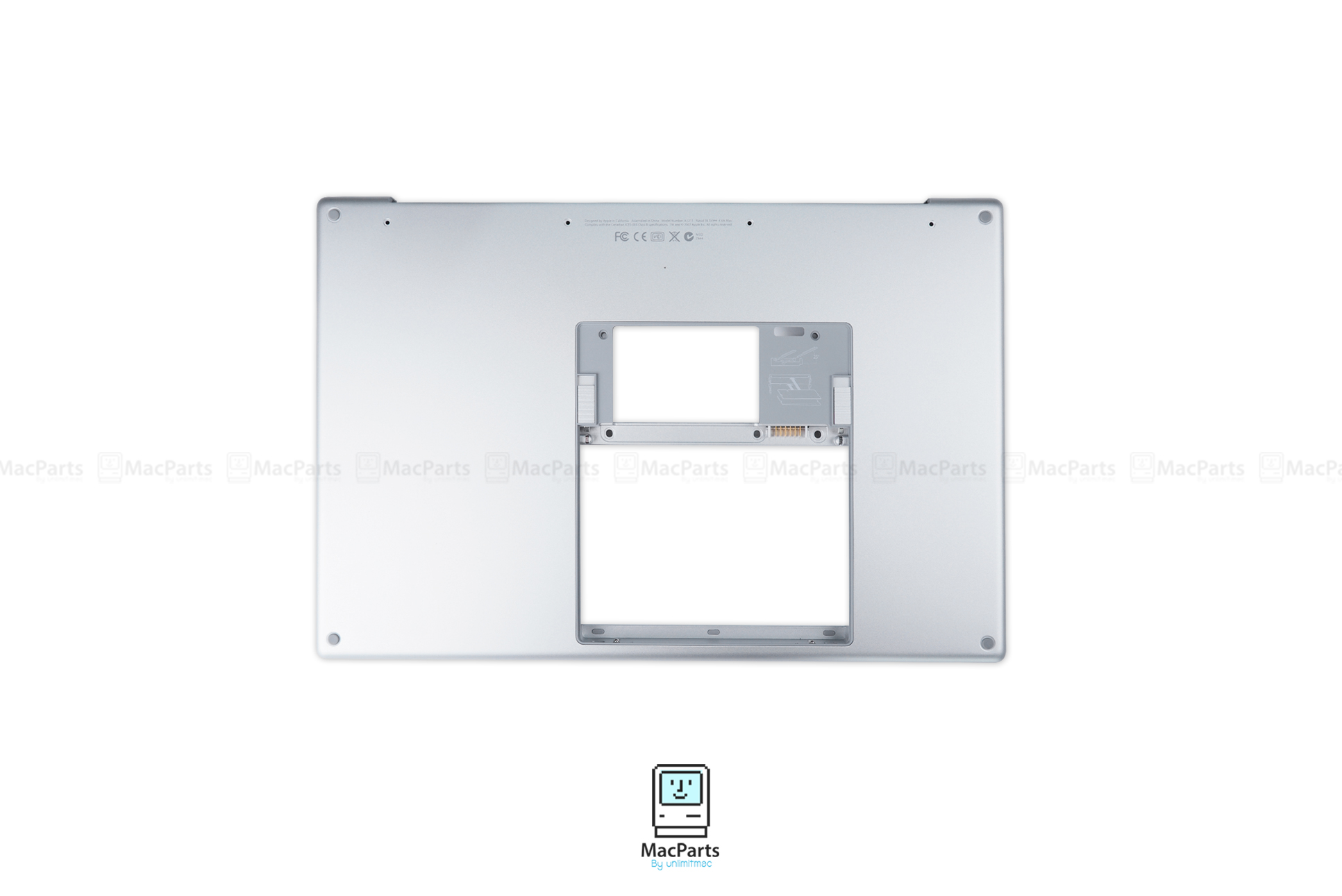 "Bottom pan Assembly 15"" MacBook Pro Core Duo"