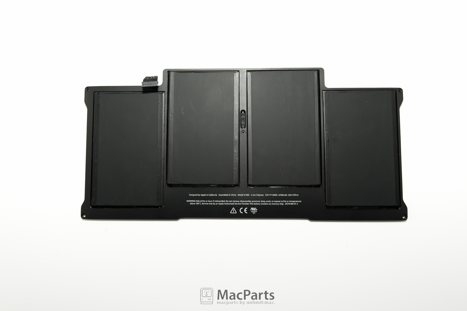 """661-6055 Battery For MacBook Air 13"""" (Mid 2010-2015) A1405 A1496"""