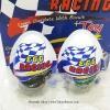 พร้อมส่ง ** Choco Egg - Egg Racing (สีน้ำเงิน) ไข่ช็อคโกแลต แถมของเล่น 1 ลูก (สินค้ามีอย.ไทย)