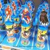 พร้อมส่ง ** Justice League Action Keychain Gum Ball พวงกุญแจรูปซุปเปอร์ฮีโร่ แถมหมากฝรั่ง 1 ชิ้น (บรรจุ 15 กรัม)