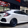 "Honda Civic FK (Hatchback) + ZE40 19"" + Project Mu"