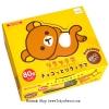 พร้อมส่ง ** Rilakkuma Chocolate ช็อคจิ๋วรูปหมีขี้เกียจริลัคคุมะ กล่องใหญ่ 80 ชิ้น (ช็อคโกแลตทนร้อนได้ ไม่ละลาย)