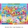 พร้อมส่ง ** Kracie Popin Painting Gummy Candy Kit (Oekaki gumi land) ชุดเพ้นท์ระบายสีเยลลี่กัมมี่ น่ารักมากๆ ทานเสร็จแล้วกินได้จริงๆ ด้วยนะคะ