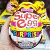 พร้อมส่ง ** Choco Egg - Super Egg Surprise ไข่ช็อคโกแลตลูกใหญ่เท่าฝ่ามือ สีเหลือง แถมของเล่น