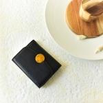 กระเป๋าสตางค์ หนังวัว รุ่น Berry wallet (Black)