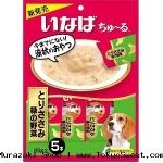 พร้อมสง ** Inaba** Ibana - Chu~ru Torisasami [Green Vegetable] ขนมหมาเลีย ชนิดครีม ใช้สันในไก่เป็นส่วนประกอบหลัก ผสมถั่วฝักยาวและถั่วลันเตา จะบีบให้น้องหมามาเลียใกล้ๆ มือเรา หรือจะใช้เป็นท็อปปิ้งอาหารก็ได้ค่ะ