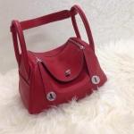 กระเป๋า hermes Lindy 26' Red