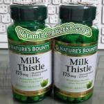 Nature's Bounty Milk Thistle 175 mg 100 Caps ล้างสารพิษตับ