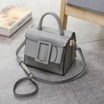 กระเป๋าหนังวัว Boyy Bags LUCAS (Baby gray)