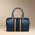 กระเป๋าหนังวัวแท้ Speedy blue
