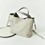 กระเป๋าหนังวัว Verika White (36x27x23cm)