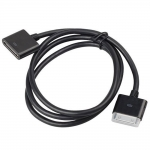 Dock Connector Extender Extension Cable (Black)