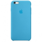 iPhone 6Plus,6SPlus Silicone Case -Blue , เคสซิลิโคน iPhone 6Plus,6SPlus - สีฟ้า
