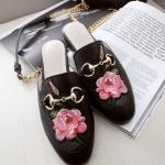 รองเท้า หนัง แท้ Gucci style 002 black size38