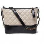 กระเป๋าหนังแกะ gabrielle bag size 22 (สีเบจ)