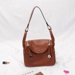 กระเป๋า hermes Lindy 26' Brown (อะไหล่เงิน)