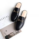 รองเท้า หนัง แท้ Gucci style 001 Black Size38