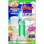 พร้อมส่ง ** Bluelet Stampy [Green Forest] หลอดสแตมป์รูปดอกไม้กลิ่นหอมที่ชักโครก ช่วยดับกลิ่นและฆ่าเชื้อโรค หลอดสีเขียว 1 หลอดสามารถใช้ได้ประมาณ 40 วัน (ครั้งละ 10 วัน ใช้ได้ 4 ครั้ง)