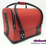 กระเป๋าเครื่องสำอางค์ Series C (Red/Black)