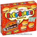 พร้อมส่ง ** Bourbon Every Burger บิสกิตกรอบรูปแฮมเบอร์เกอร์สอดไส้ช็อคโกแลตสุดน่ารัก บรรจุ 66 กรัม
